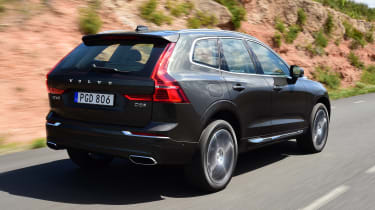 New Volvo XC60 - rear