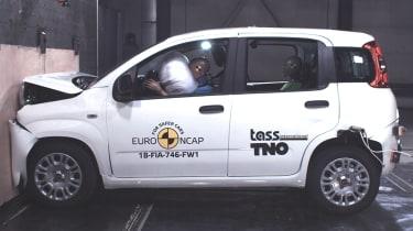 Fiat Panda NCAP crash