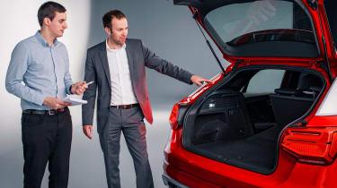 Audi Q2 Studio boot