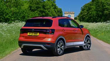 Volkswagen T-Cross Black Edition - rear static