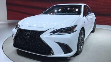 Lexus ES - Beijing show - front static