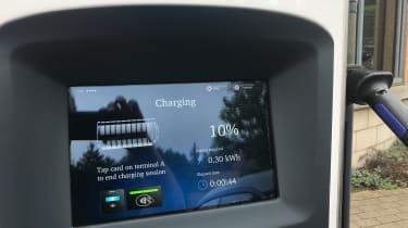 Nissan Leaf long termer first report - charging station