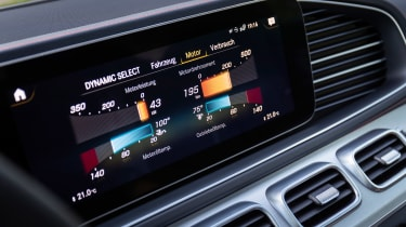 Mercedes-AMG GLE 53 Coupe - infotainment