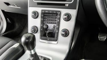 Used Volvo V60 - centre console