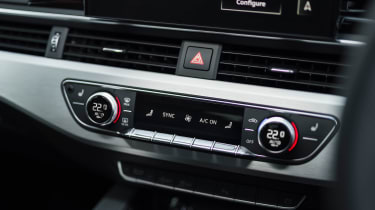 Audi A5 Sportback - centre console