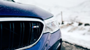 New BMW M5 - headlight