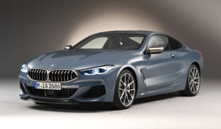 BMW 8 Series - studio front