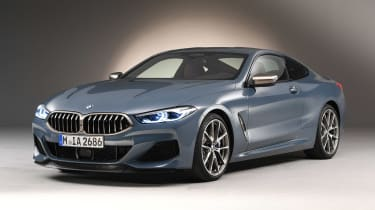 BMW 8 Series - studio front