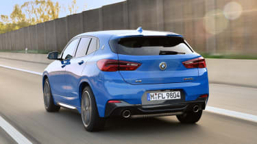 BMW X2 M35i - rear action