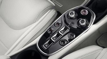 McLaren GT - centre console
