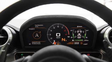 McLaren Senna - dials 2