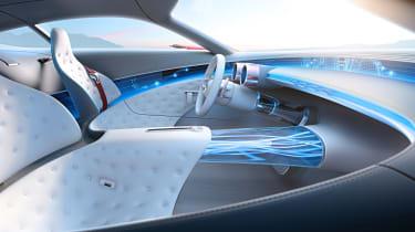 Mercedes-Maybach 6 concept coupe - interior