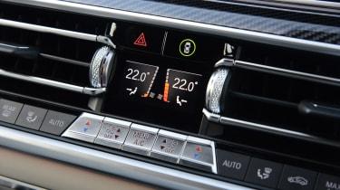 BMW X6 - climate control
