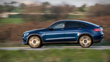 Mercedes-AMG GLC 43 Coupe panning