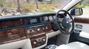 Rolls-Royce Phantom II interior