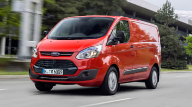Ford Transit Custom - front