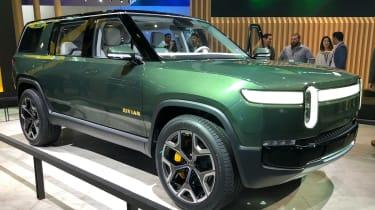 Rivian R1S - LA Motor Show - static front