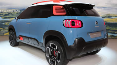Citroen C-Aircross concept - rear
