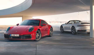 Porsche 911 Carrera 4 - Coupe and Cabriolet static