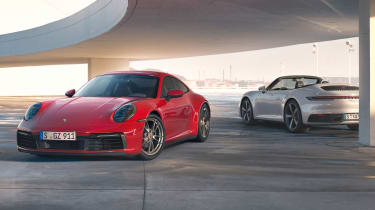 Porsche 911 Carrera 4 - Coupe and Cabriolet static