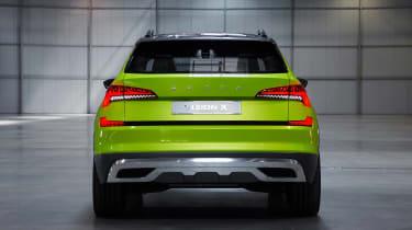 Skoda Vision X concept - full rear