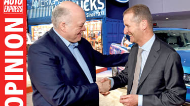 Opinion - VW-Ford alliance