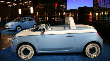 Fiat 500 Spiaggina by Garage Italia - side