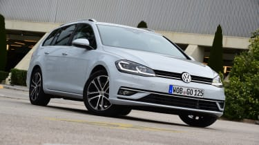 New Volkswagen Golf Estate - front static