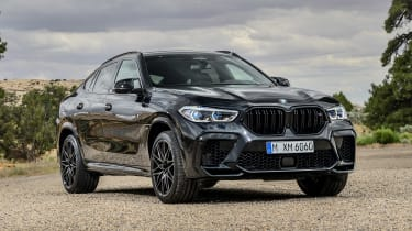 BMW X6 M Competition - front static
