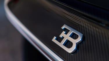 Bugatti Chiron - The Quail badge