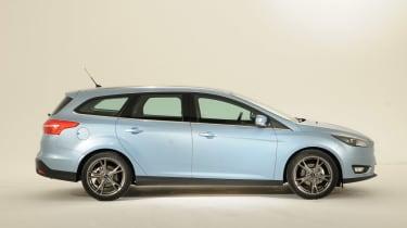 Ford Focus 2014 facelift estate side
