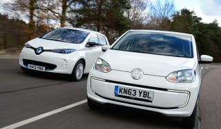 Volkswagen e-up! vs Renault ZOE 1