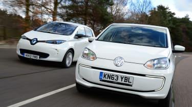 Volkswagen e-up! vs Renault ZOE 1