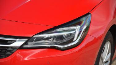 Vauxhall Astra Sports Tourer - headlight