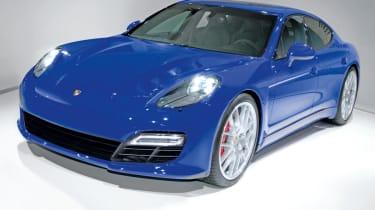 Porsche Pajun front three-quarters