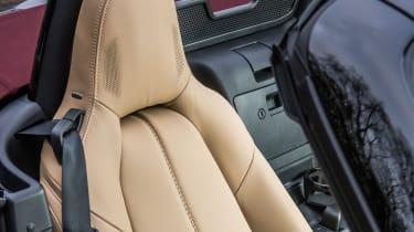 New Mazda MX-5 Z-Sport 2018 review - seat