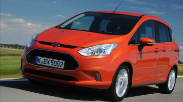 Ford B-MAX 1.6 TDCi Titanium front action