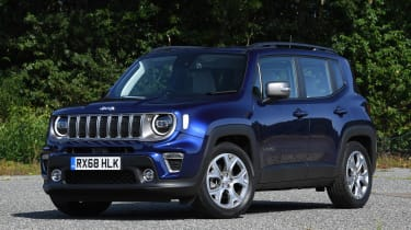 Jeep Renegade - static