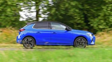Vauxhall Corsa-e - driving profile