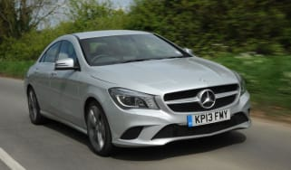 Used Mercedes CLA - front