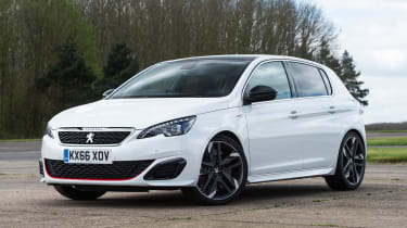 Peugeot 308 GTi - front static