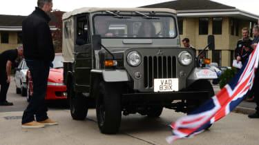 Mitsubishi's 100th year celebration - Jeep front