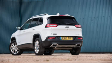 Jeep Cherokee - rear static