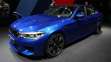 2018 BMW M5 - front