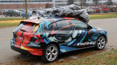 2018 Ford Focus Hatchback spy rear