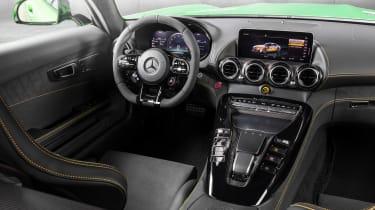 Mercedes-AMG GT R - dash