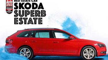 New Car Awards 2016: Estate Car of the Year - Skoda Superb Estate
