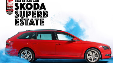 New Car Awards 2016: Estate Car of the Year - Skoda Superb Estate