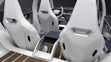 SsangYong SIV-2 - rear seats