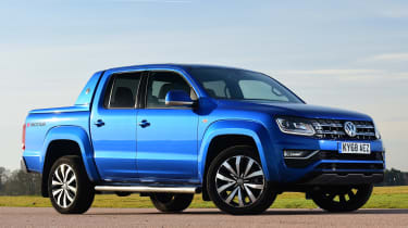 vw amarok static front quarter